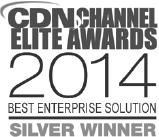 CDN Channel Elite Awards 2014 Best Enterprise Solution Silver Winner