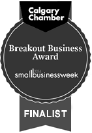 Calgary Chamber Breakout Business Award Finalist