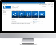 Out of Box Sharepoint Layout